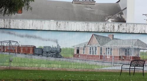mural iowa jefferson us30 outsideart greenecounty lincolnhighway