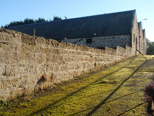 Warehouses at Royal Brackla distillery