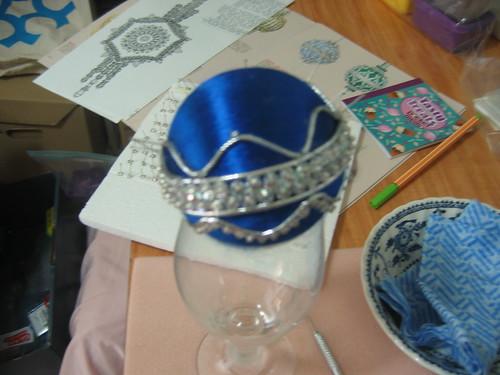 Cracker Box Ornament kit Rhapsody in Blue