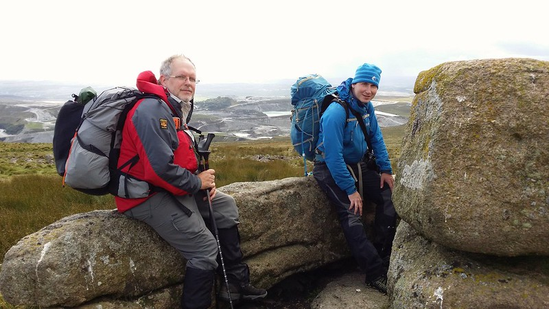 Taking five with @FlintyRich and @paulgbuck on Shell Top #sh
