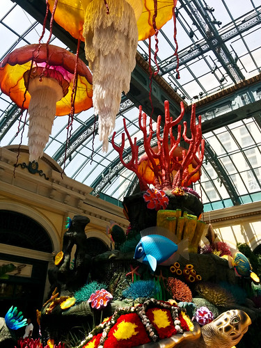 Chihuli in the Bellagio