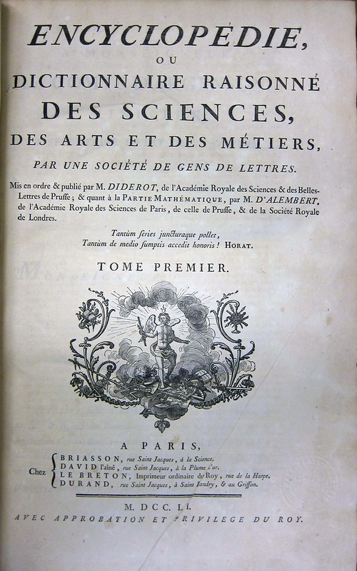 diderot title page vol 1