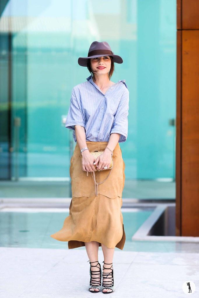 Daniela Zuccotti at Milan Fashion Week Menswear