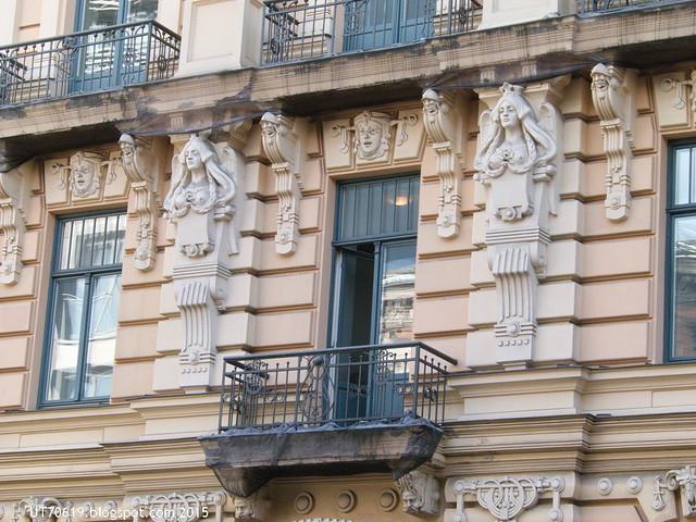 Jugendstilhaus Detail 1
