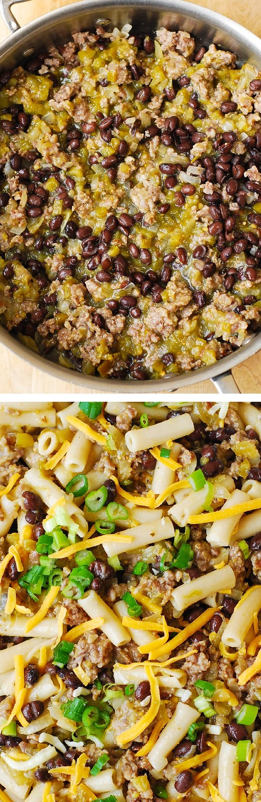 spicy sausage pasta, Mexican dinner