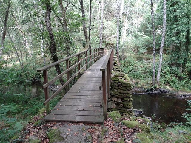 Puente en el PR-G 14 Ruta do Loio