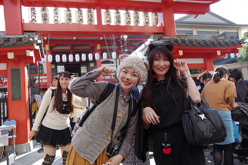 Cat's Halloween Parade in Kagurazaka 2015 29