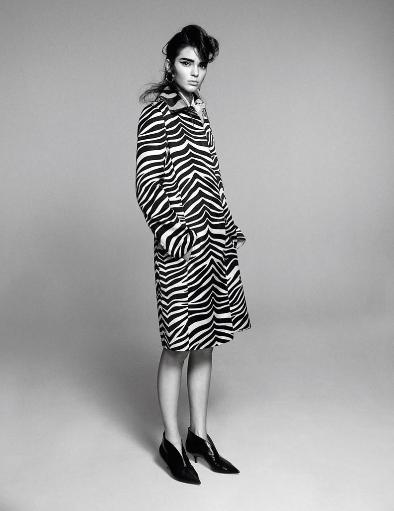 Кендалл Дженнер — Фотосессия для «Vogue» FR 2015 – 3