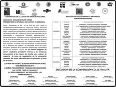 Comunicado Federaciones sector educativo #Venezuela