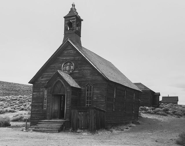 The Methodist Church Bodie Ghost Town