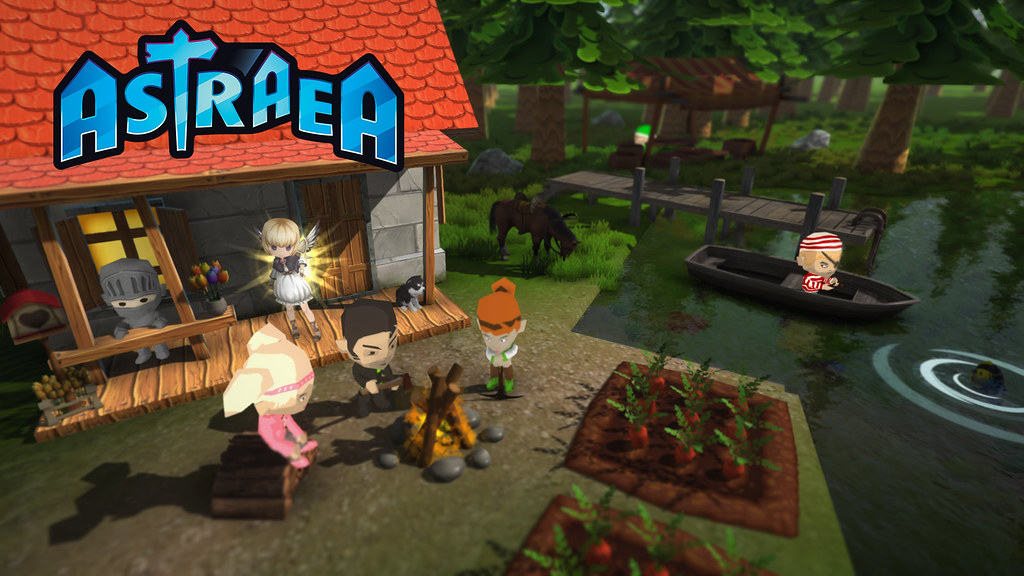 Sandbox town-building game Astraea announced for PS4