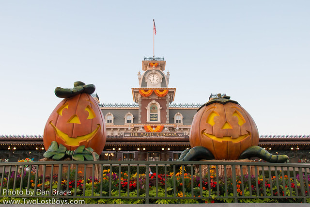Halloween on Main Street USA