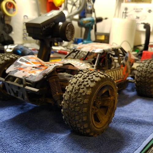 Next car is ready for speedrun...  #absimal #hotshot #sandbuggy #asb1bl #speedrun #gps