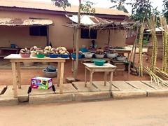 Roadside Market in Afife, Volta, Ghana