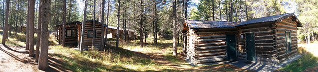 Colter Bay Village cabins