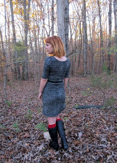Colette Wren dress - back
