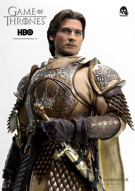 【官圖、販售資訊更新】threezero – 冰與火之歌:權力遊戲【弒君者:詹姆.蘭尼斯特】1/6 比例 Jaime Lannister
