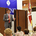 Rep. Prasad Srinivasan attended a Glastonbury Boy Scout meeting, Nov. 2015, and spoke to them about the importance of voting in elections.
