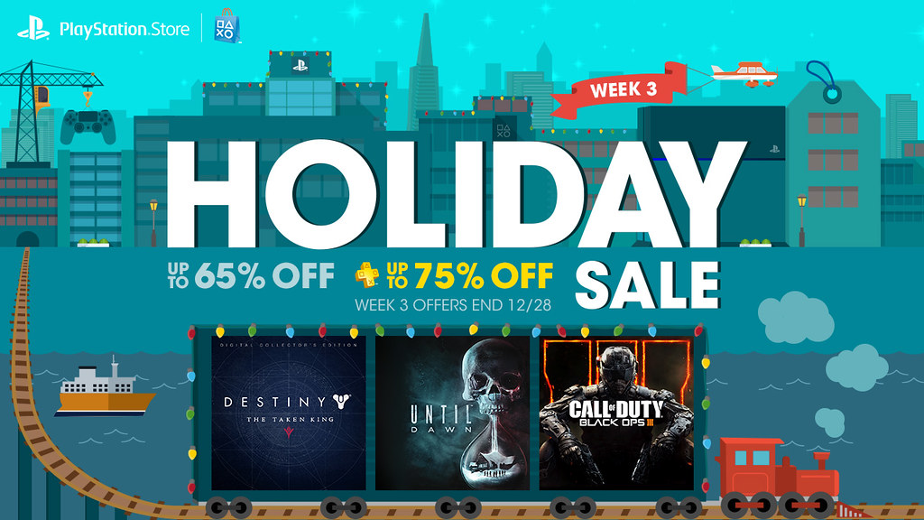 Holiday Sale Week 3: COD Black Ops 3, The Taken King and More ...