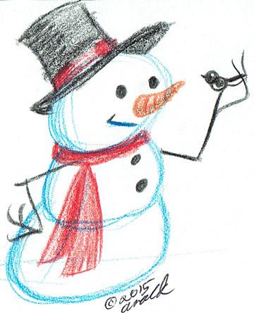 12.1.15 - Cute Snowman