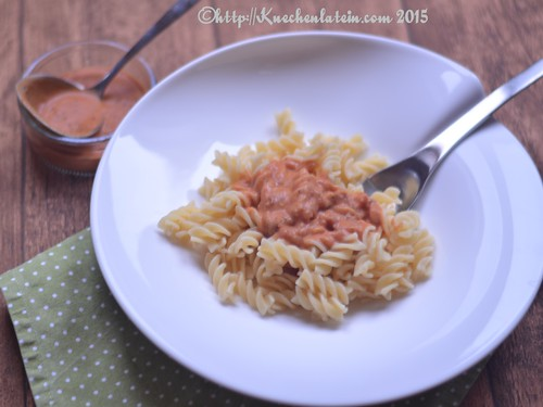 ©Pasta mit Sauce Parmarosa
