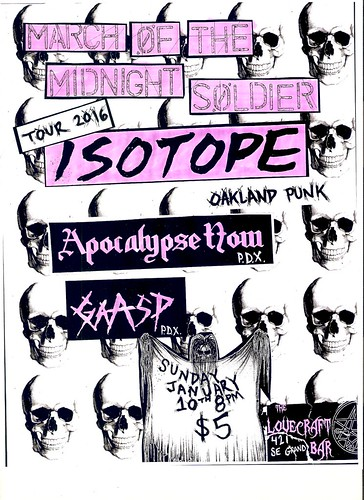 1/10/16 Isotope/ApocalypseNow/Gaasp
