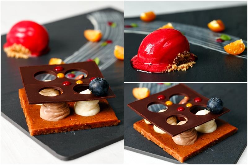 Chocolate Four Squares Dessert