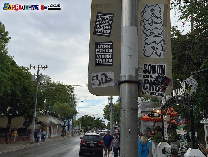 CYNE & Stickers Key West - 8643