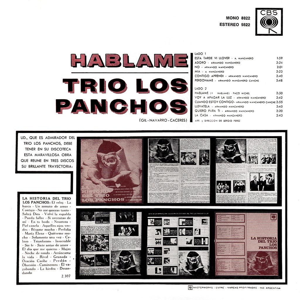 Trio Los Panchos - Hablame