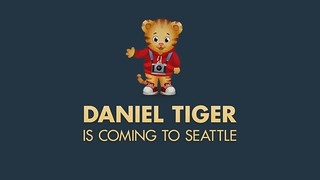 Daniel Tiger Visits Seattle