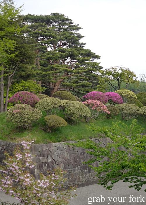 Gardens at Fort Goryokaku, Hakodate, Hokkaido