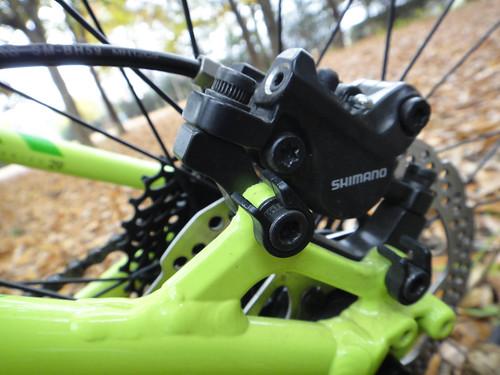 Shimano M395 hydraulic disc