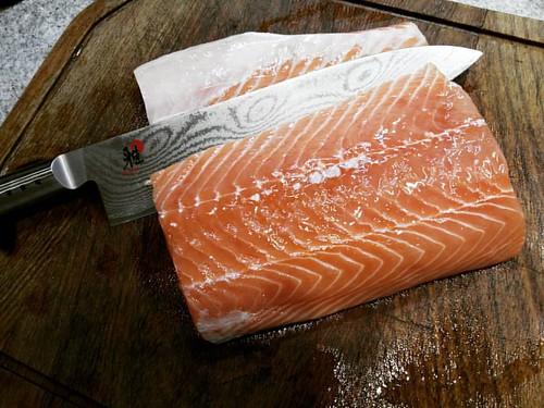 Sale salmón!