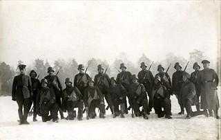 Sturmtruppen on the Eastern Front circa 1916