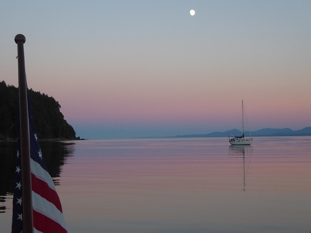 Tribune Bay Moon