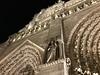 Night time view #notredame #paris
