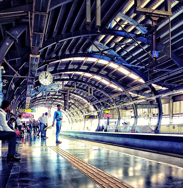 Everyone waiting for metro ...........me too .  Fb :- https://www.facebook.com/Abshinephotography/  #abshine #abshinemobilephotography #abshine_photography #travel #traveling  #visiting #instatravel  #trip #holiday #photooftheday #fun #mobile #mobilephoto
