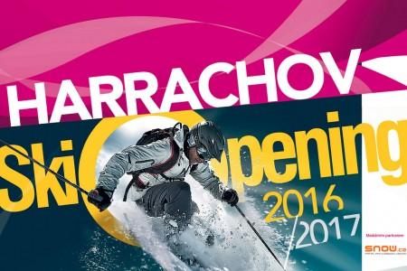 Skiopening v Harrachově 17. 12. s testováním lyží i programem pro děti