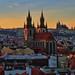 """""""Prague at sunset"""" by Karel Hrouzek P H O T O"""