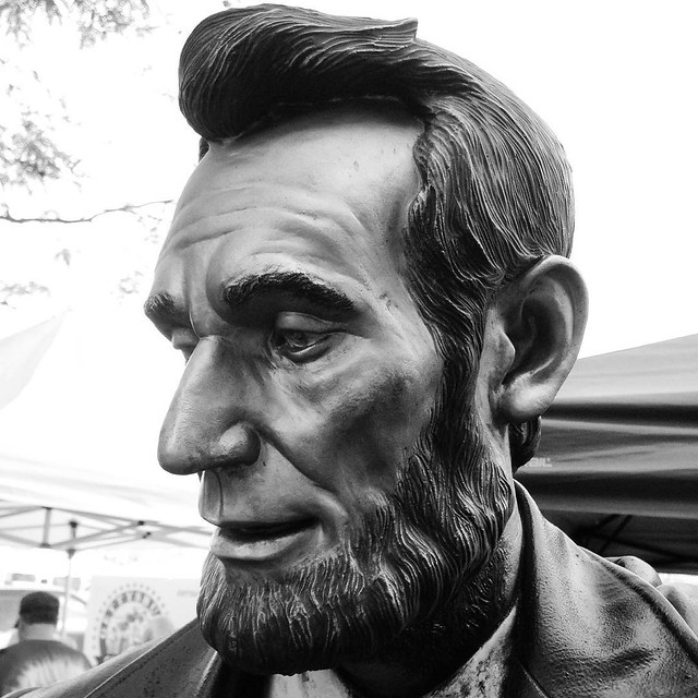 Visiting this guy today. #Gettysburg #museum #battlefield #civilwar #abe #lincoln