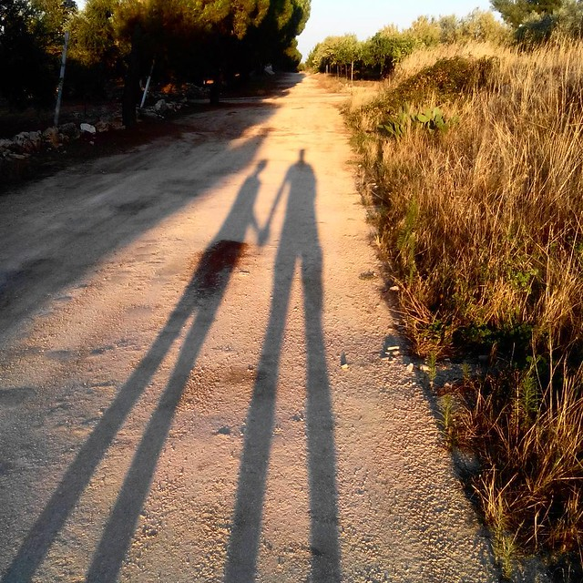 #Viatraiana #ombre #giganti #tramonto #terlizzi