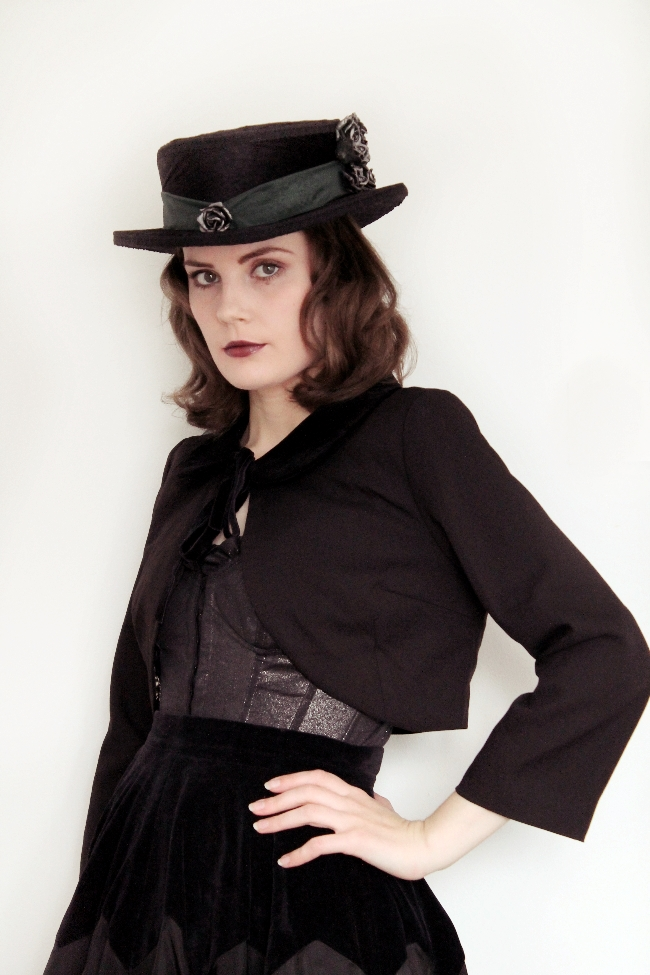 Steampunk Victorian Mourning Outfit