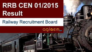 RRB JE and SSE Result (CEN 01/2015)