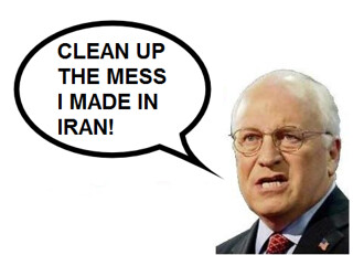 Cheney: Okay, Iran Nukes ARE My Fault