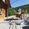 #breakfast #scrambledeggs #vacation #sky #nature #blue #sunny #vacationporn #travel #france #visiting #instatravel #instaday