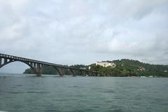 09 - Approaching the bridge / Anfahrt auf die Brücke