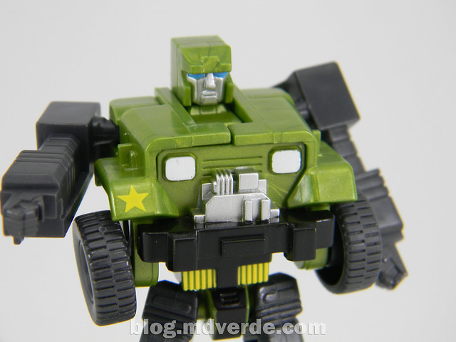 Transformers Hound EZ Collection - modo robot