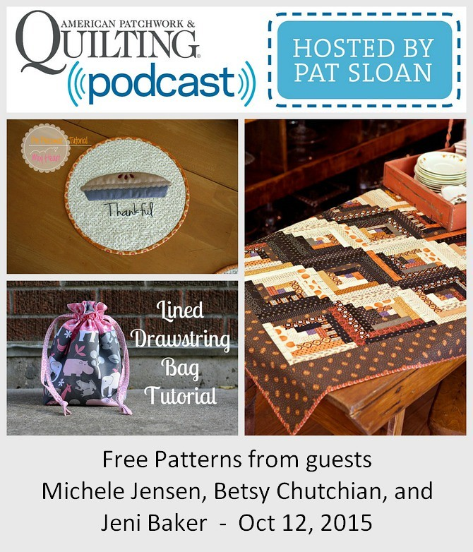1 pat sloan Oct 12 2015 free patterns