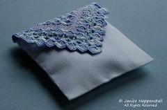 Lavender Hardanger sachet 2