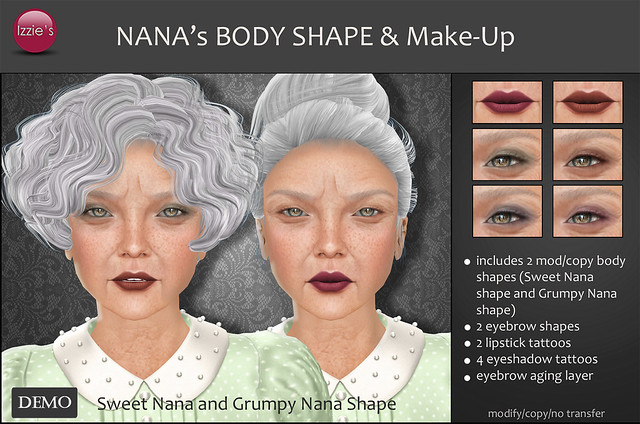 Nana's Body Shape & Make-Up (soon @ Uber)